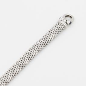 Bracelet en or gris résille Saphir