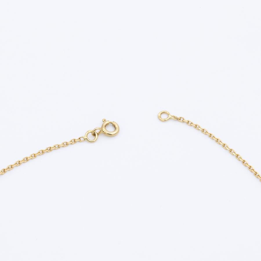 Collier en or et pendentif cœur en platine et diamants