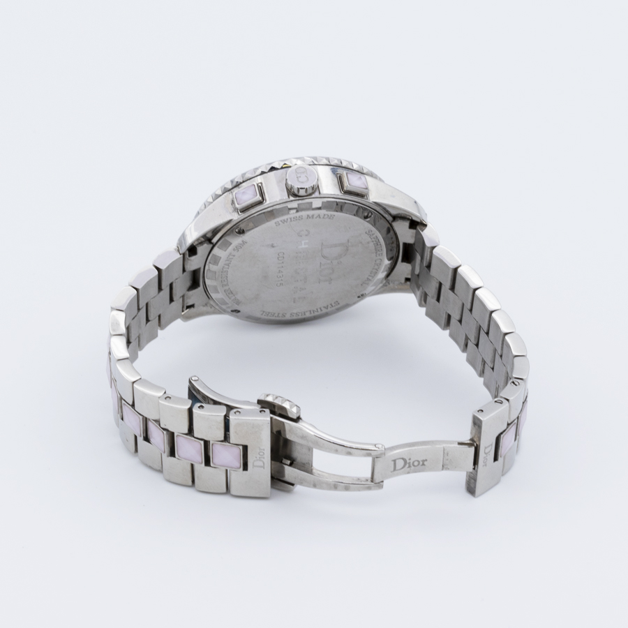 Montre Christian Dior diamants christal Ladies