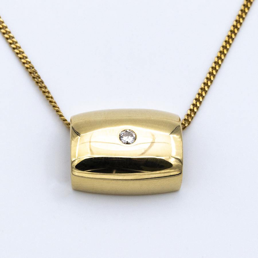 Pendentif Piaget en or jaune et diamant